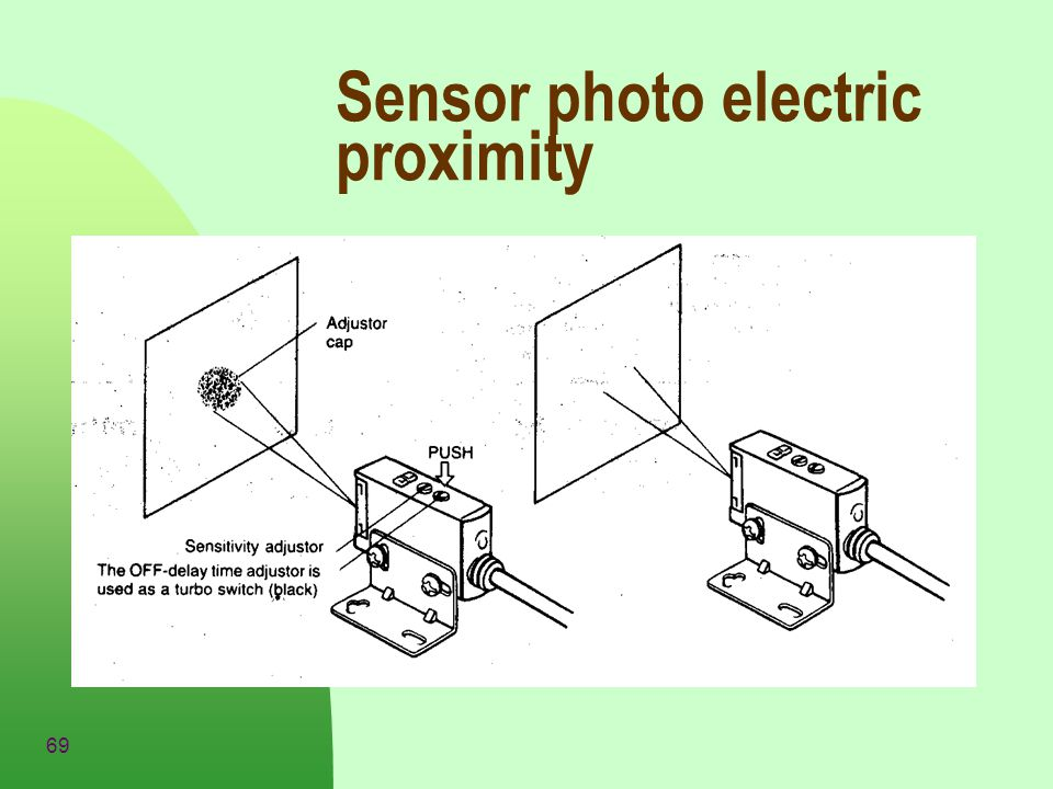 Sensor photo electric proximity