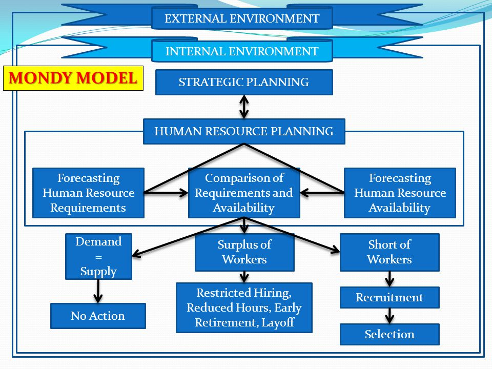 MONDY MODEL EXTERNAL ENVIRONMENT INTERNAL ENVIRONMENT
