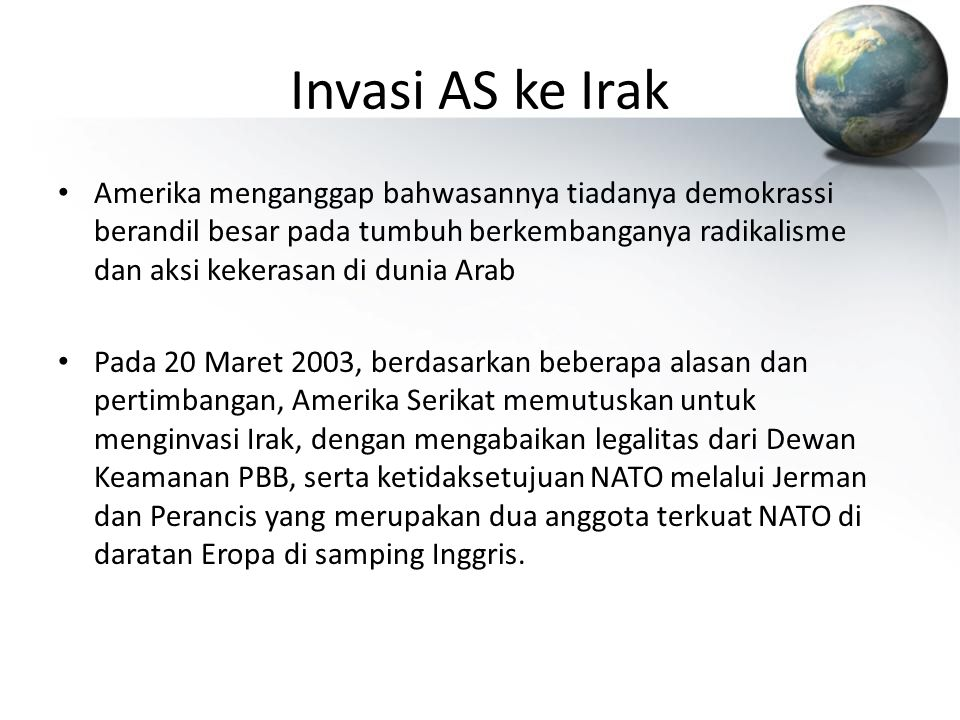 Invasi AS ke Irak