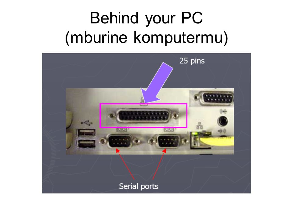 Behind your PC (mburine komputermu)