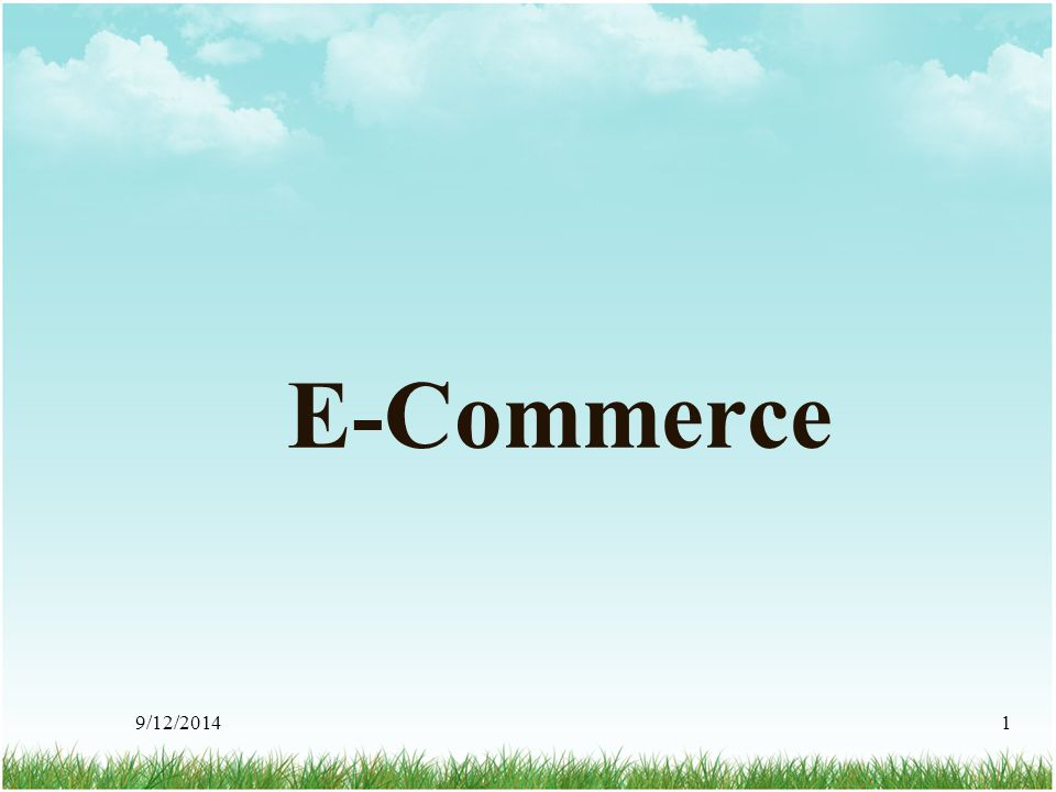 E-Commerce 4/6/2017