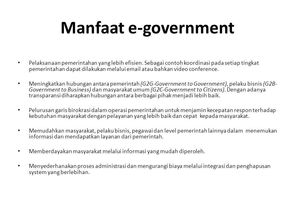 Perkembangan E Government Dari Sisi Akademis Ppt Download