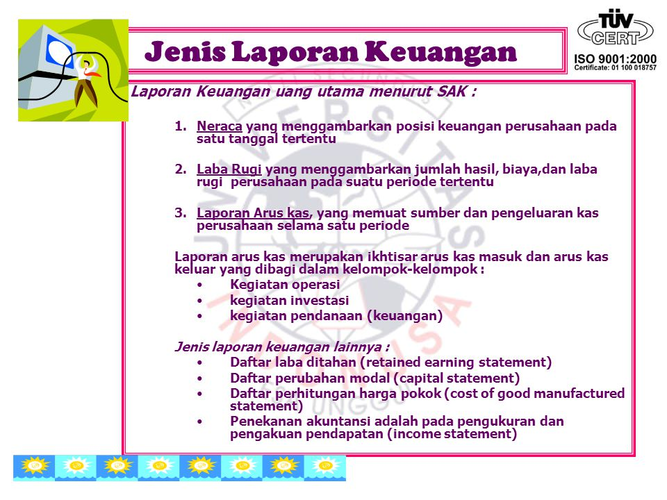 Laporan Keuangan Laba Rugi Dan Neraca Ppt Download