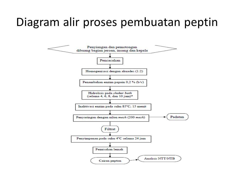Hidrolisis ikan proses pemecahan komponen gizi dalam tubuh ikan 15 diagram alir proses pembuatan peptin ccuart Gallery