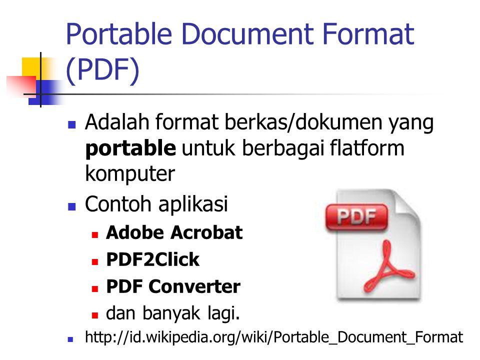 Membuat File Portable Document Format Pdf Ppt Download