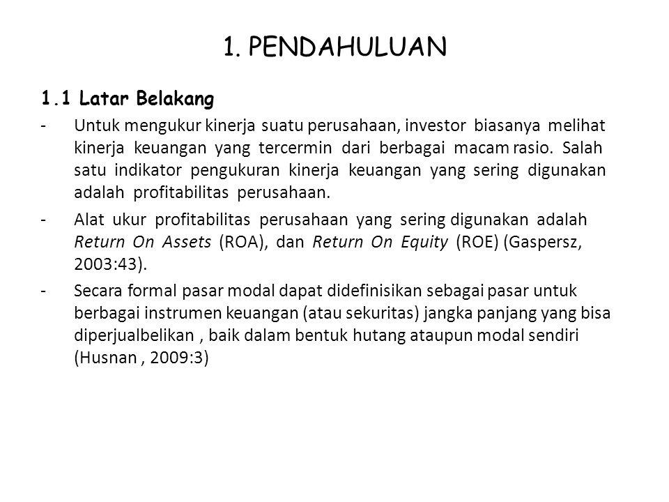 Pengaruh Kinerja Keuangan Ppt Download