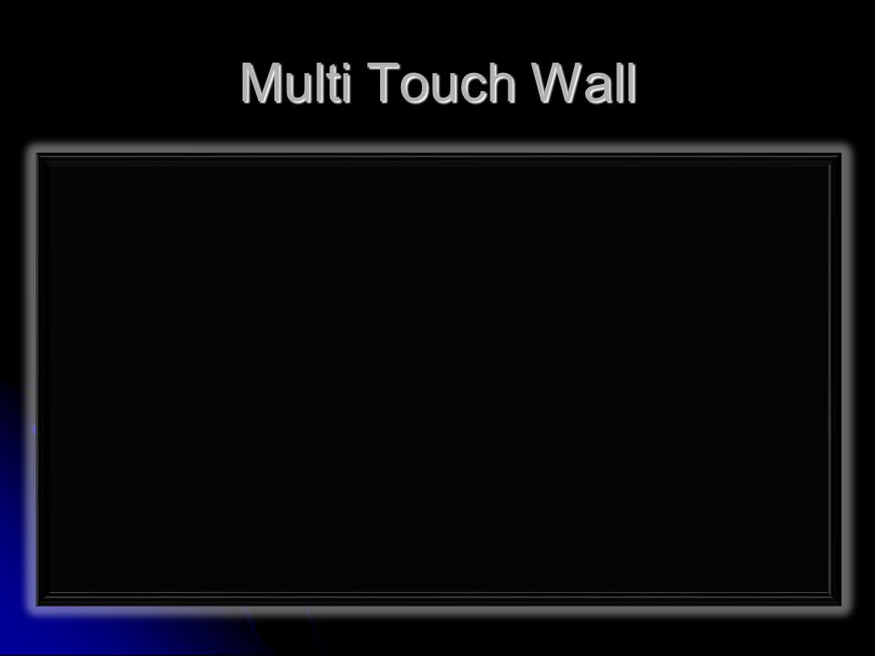 Multi Touch Wall