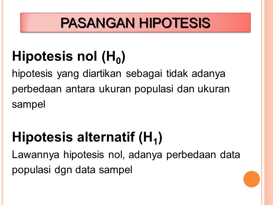 Hipotesis alternatif (H1)