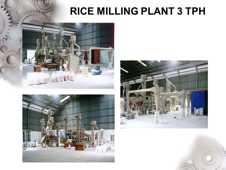 RICE MILLING PLANT 3 TPH