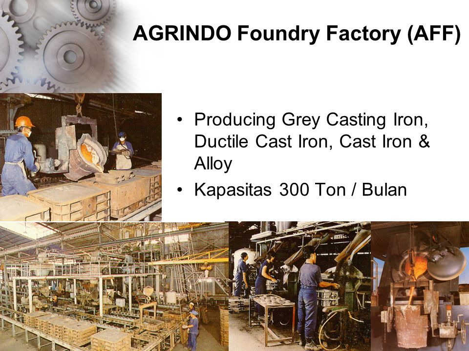 AGRINDO Foundry Factory (AFF)