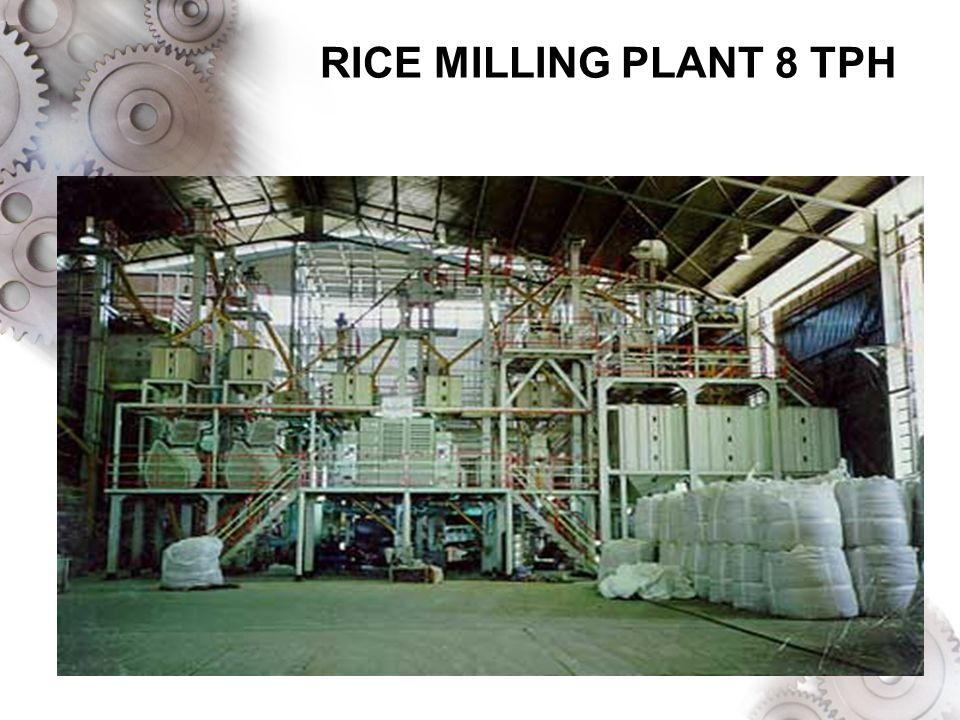 RICE MILLING PLANT 8 TPH
