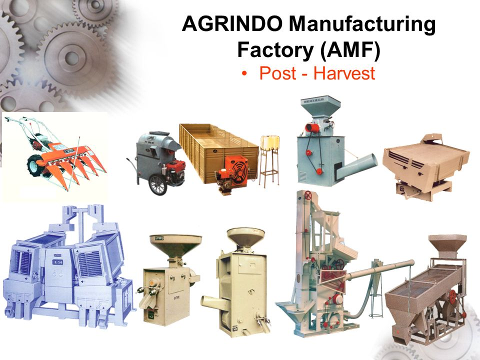 AGRINDO Manufacturing Factory (AMF)