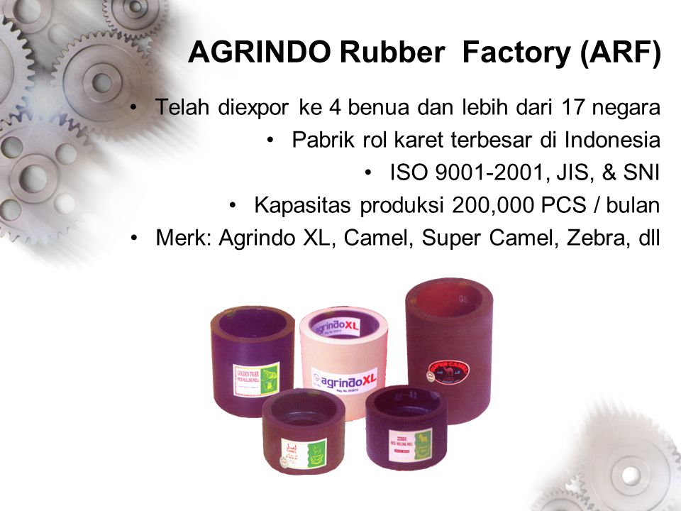 AGRINDO Rubber Factory (ARF)