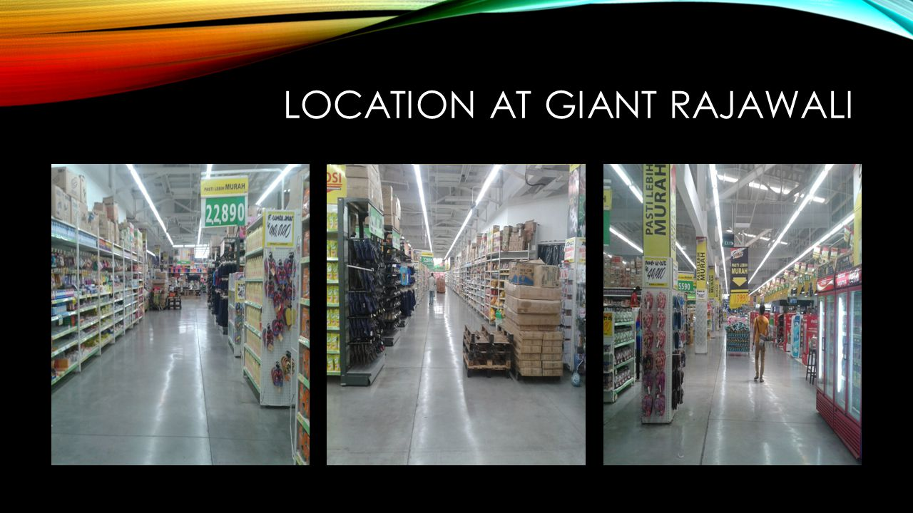 Location at giant rajawali