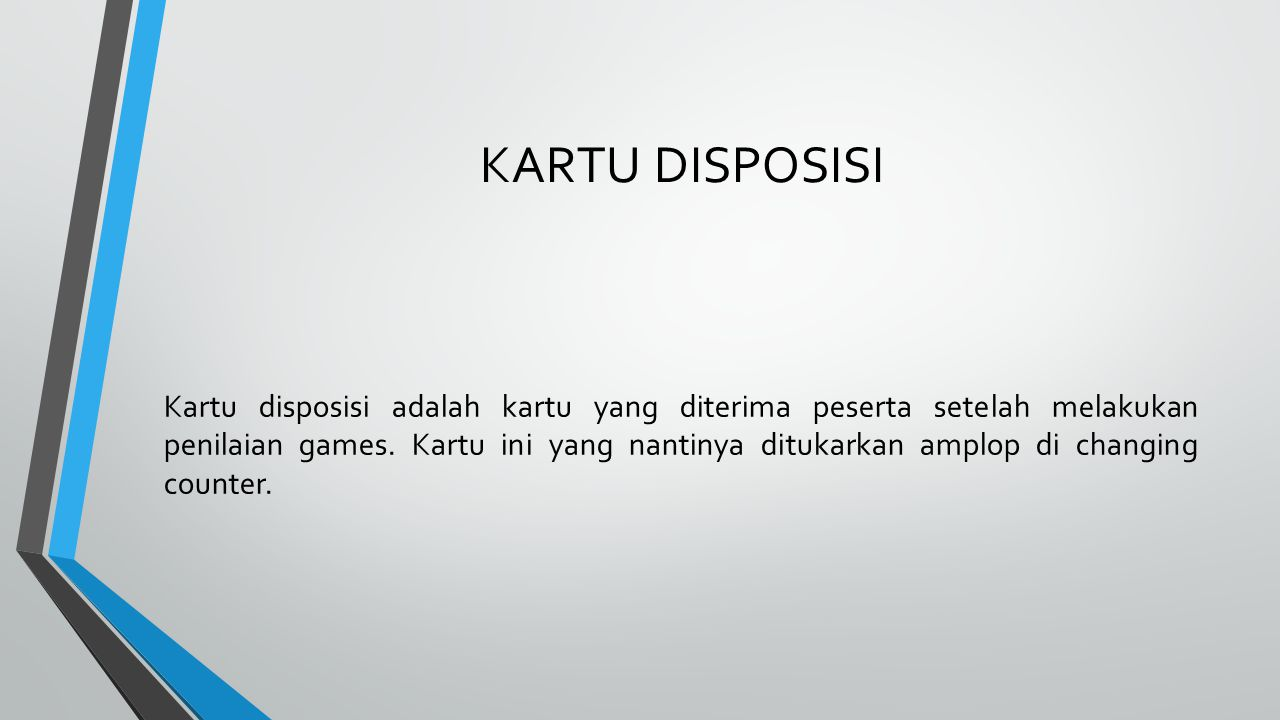 KARTU DISPOSISI