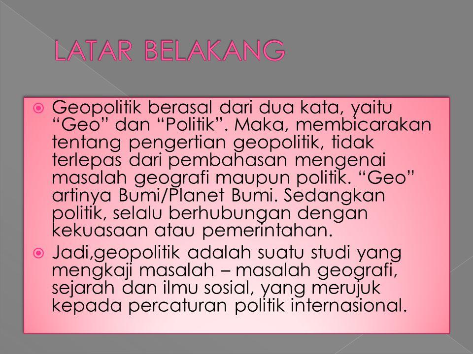 Geopolitik Indonesia Aspek Kewilayahan Ppt Download