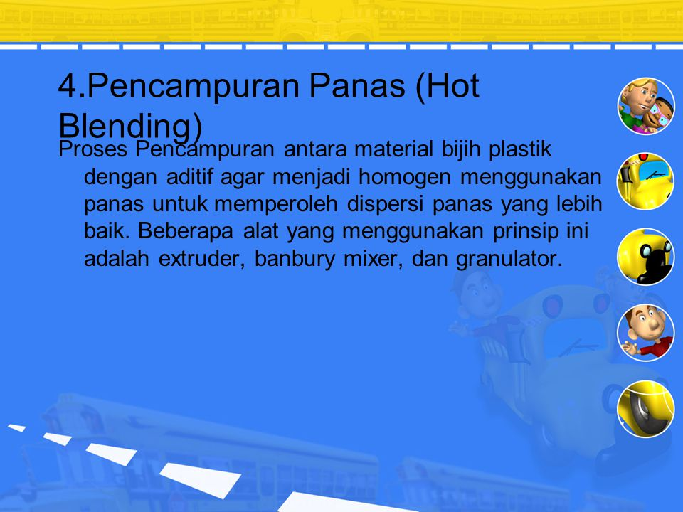 4.Pencampuran Panas (Hot Blending)