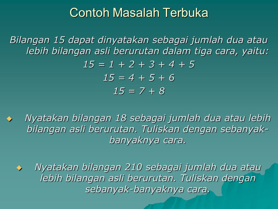Contoh Soal 18 Strategi Pemecahan Masalah Matematika Sd Contoh Soal Terbaru