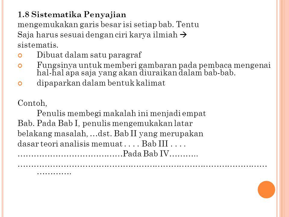 Tata Penulisan Karya Tulis Ilmiah Ppt Download