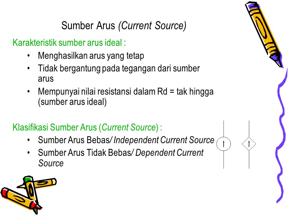 Sumber Arus (Current Source)