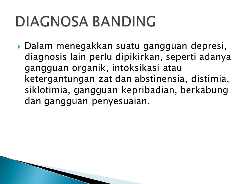DIAGNOSA BANDING