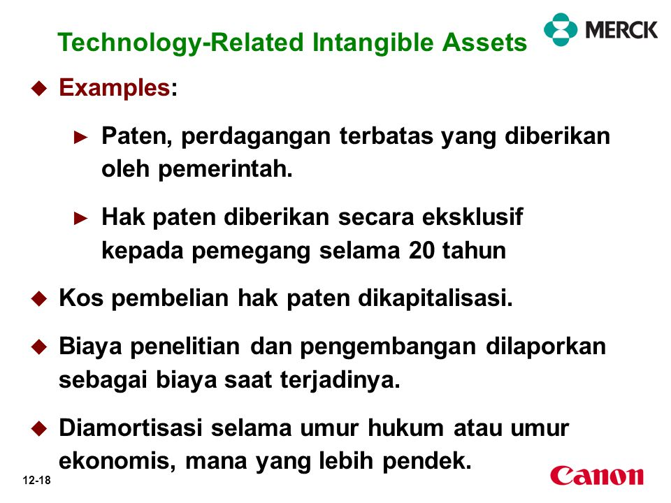 Technology-Related Intangible Assets