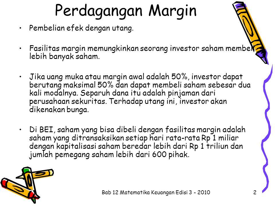 perdagangan opsi vs perdagangan margin