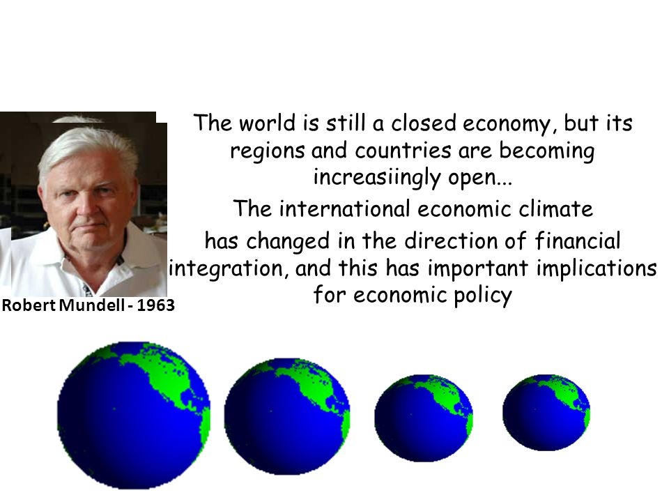 The international economic climate