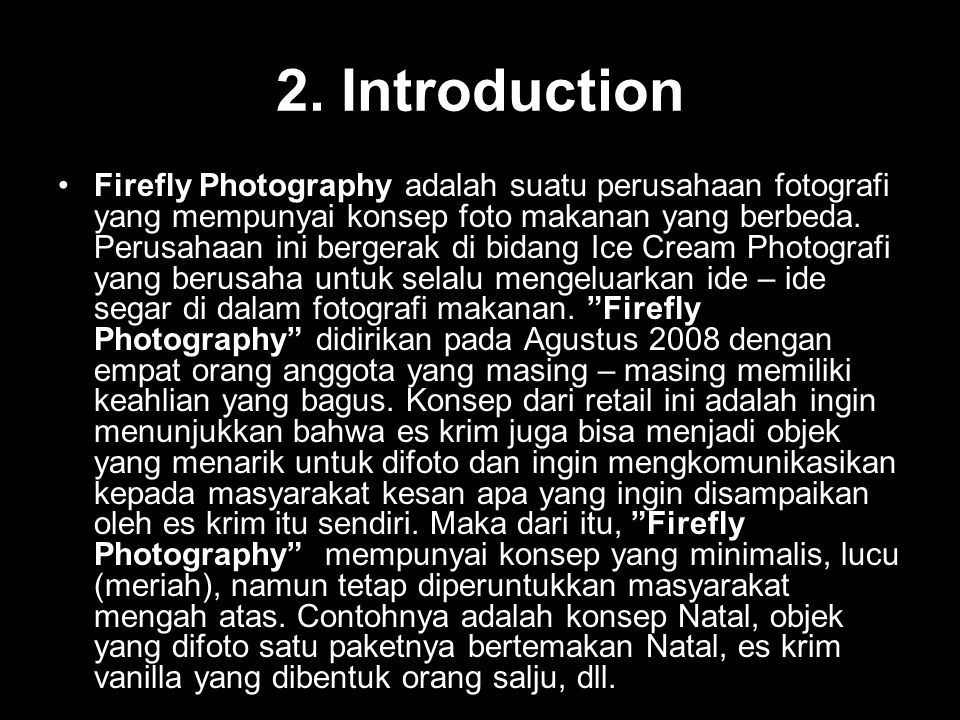 Photography Business Project Plan Ppt Download