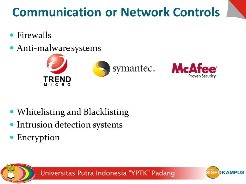 Communication or Network Controls