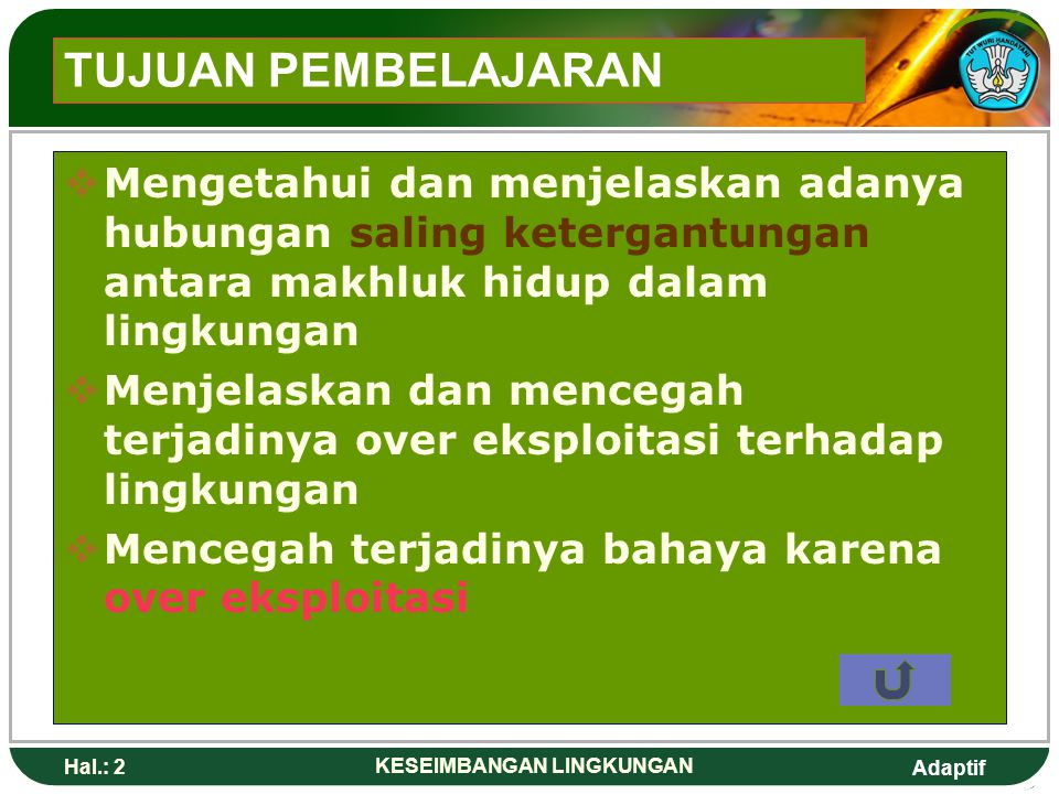 Keseimbangan Lingkungan Ppt Download