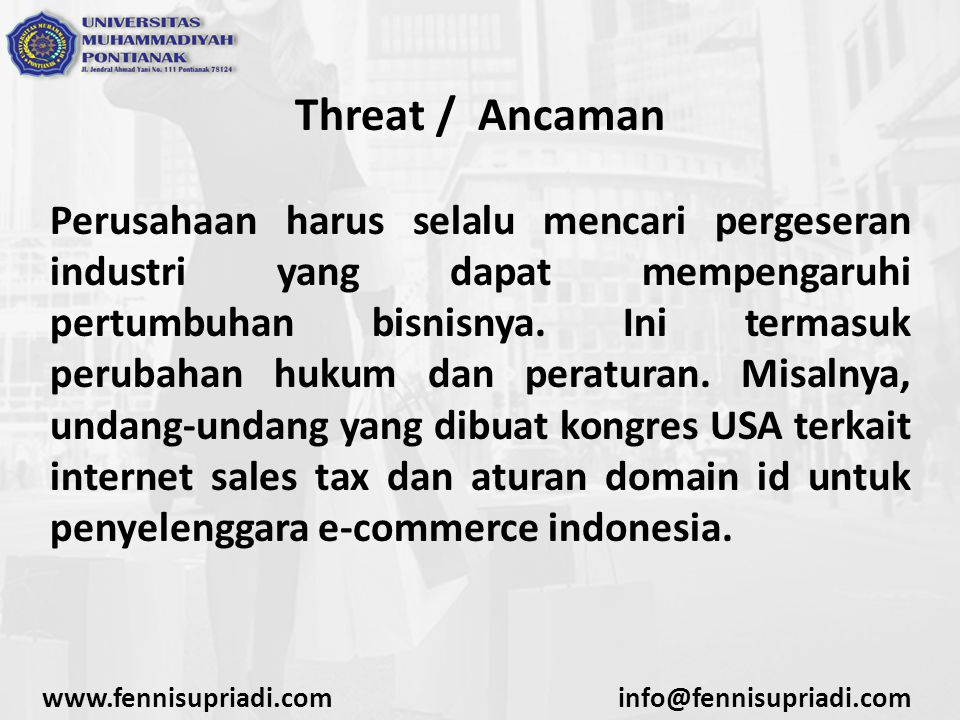 Threat / Ancaman