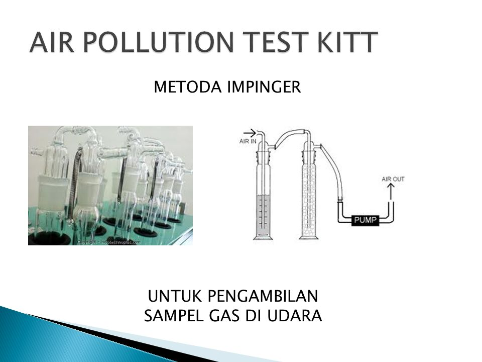AIR POLLUTION TEST KITT