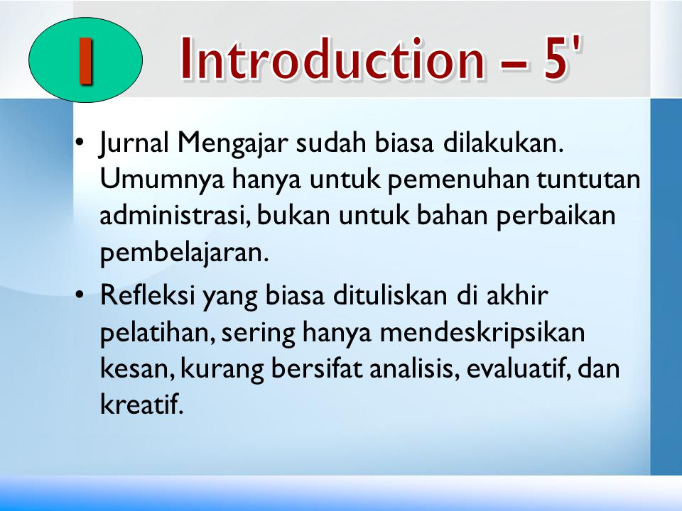 I Introduction – 5