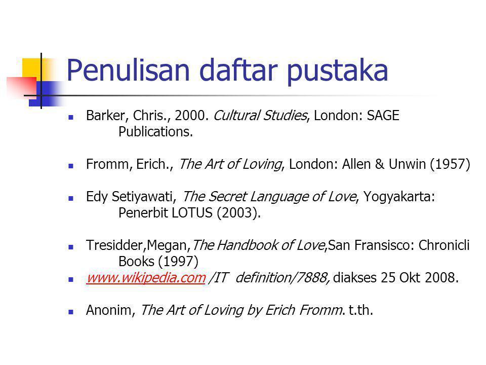 Persyaratan Bahasa Dan Teknik Penulisan Ppt Download