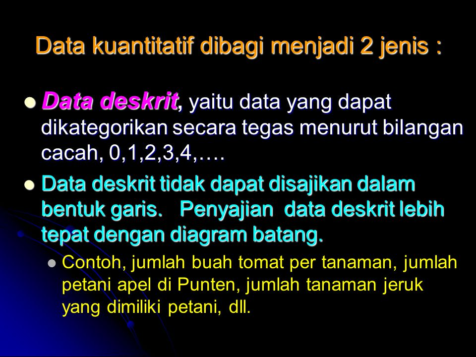 Statistika terapan pertanian ppt download 16 data kuantitatif ccuart Images