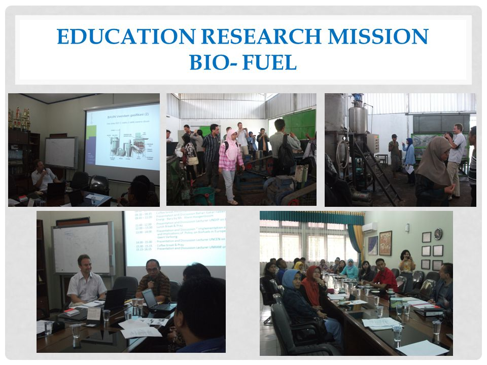 Education research mission Bio- fuel