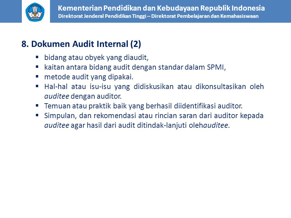8. Dokumen Audit Internal (2)