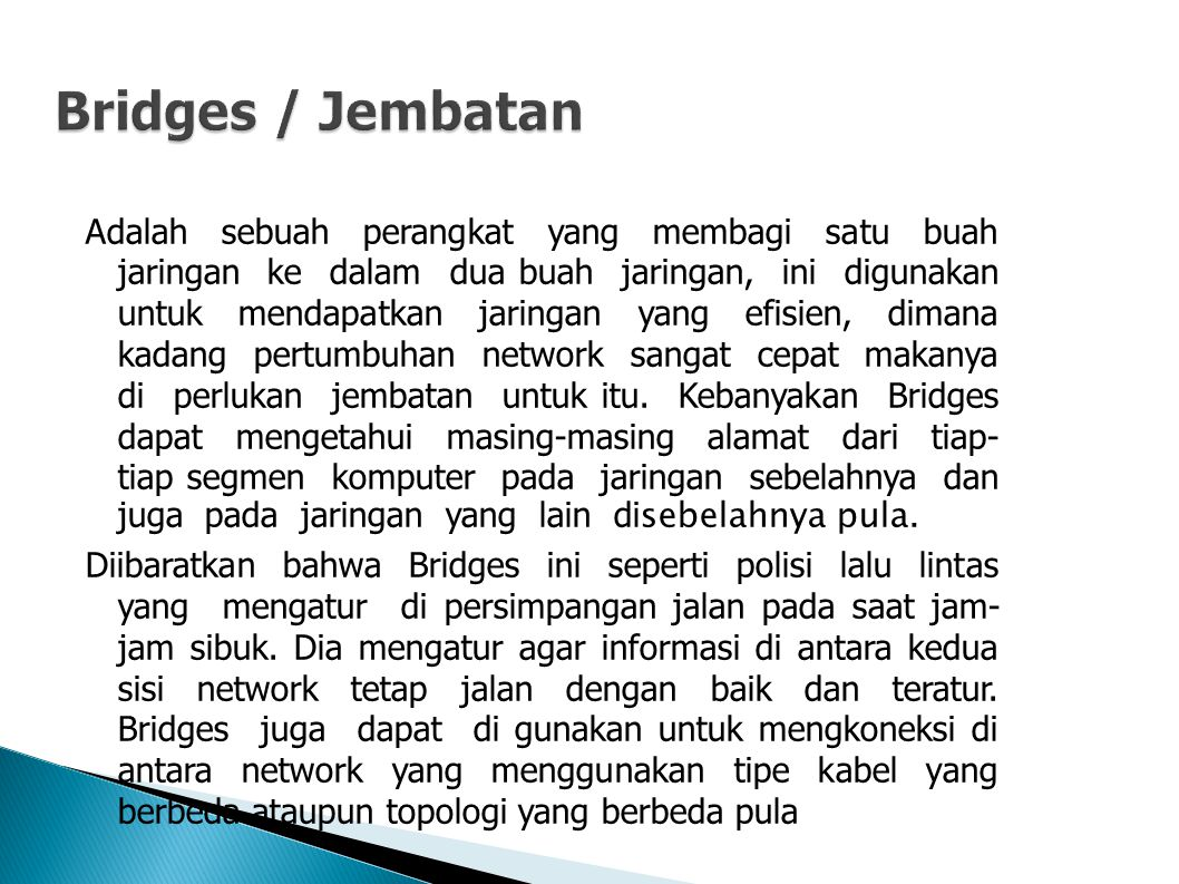 Bridges / Jembatan