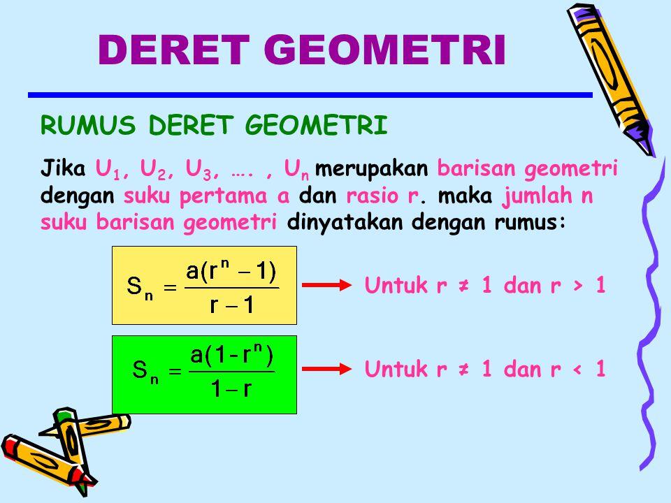 19 Contoh Soal Rumus Barisan Geometri Kumpulan Contoh Soal