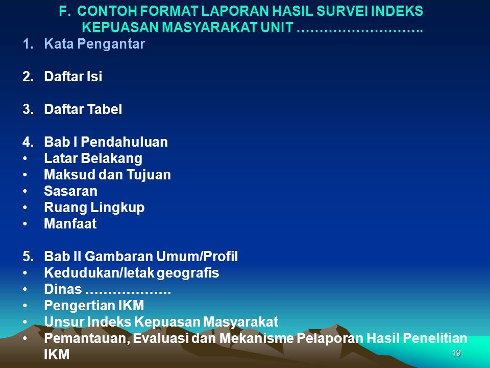 Penyusunan Indeks Kepuasan Masyarakat Ikm Ppt Download