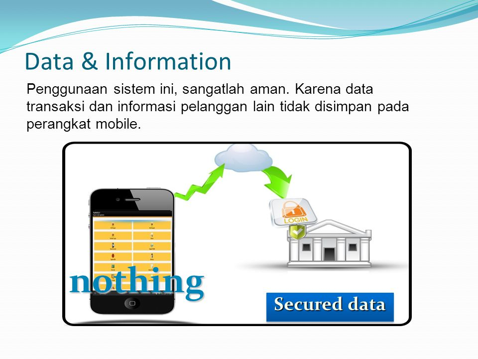 nothing Data & Information Secured data