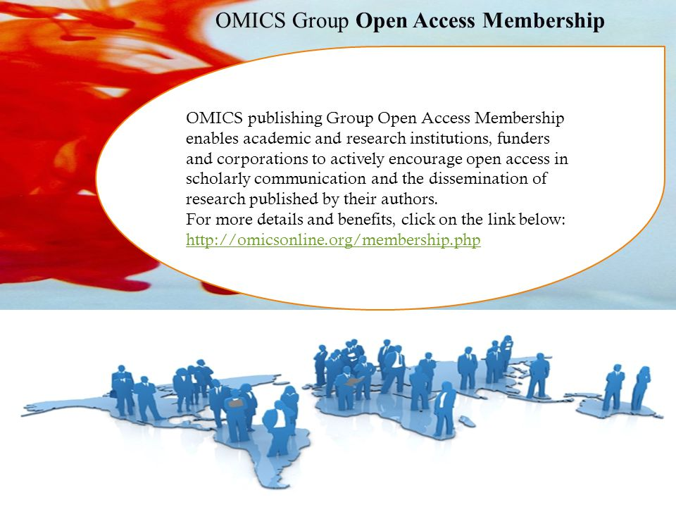 OMICS Group Open Access Membership