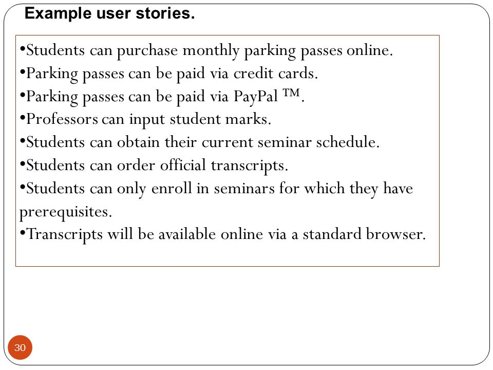 Students can purchase monthly parking passes online.