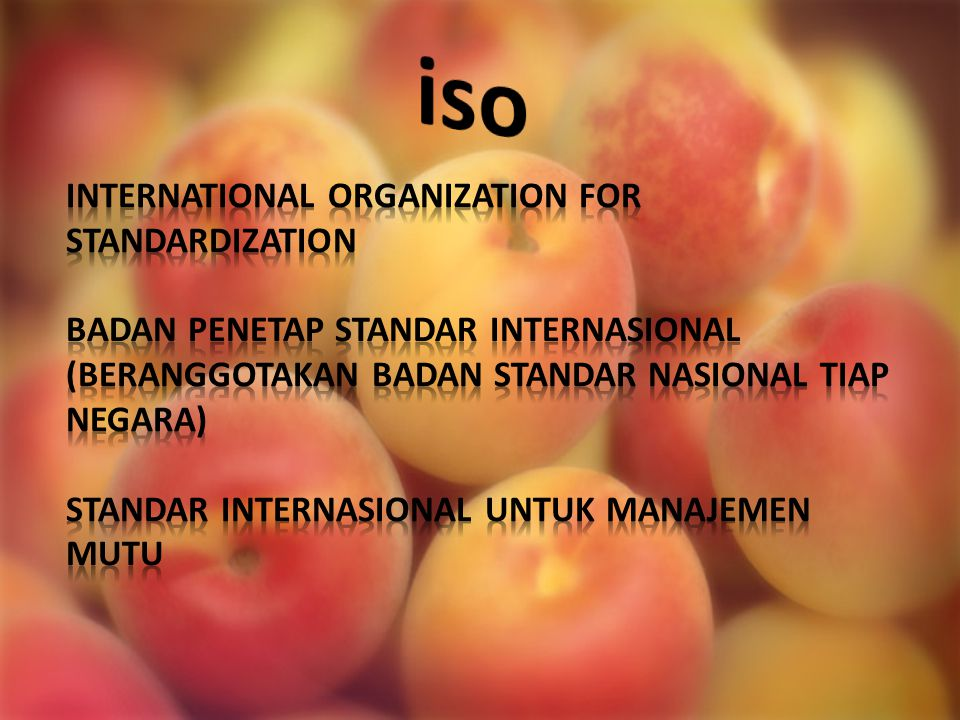 iso INTERNATIONAL ORGANIZATION FOR STANDARDIZATION
