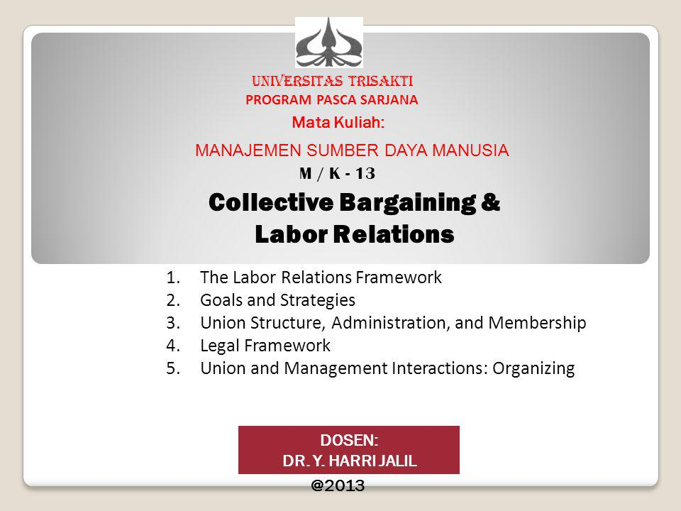 Collective Bargaining &