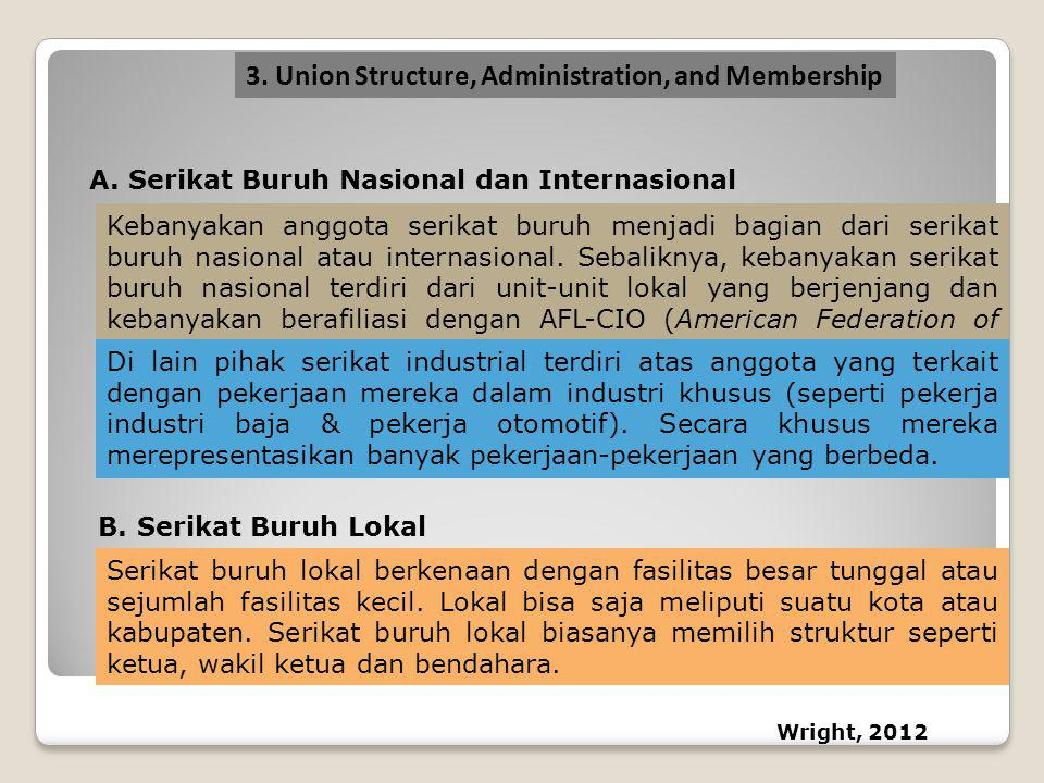 3. Union Structure, Administration, and Membership