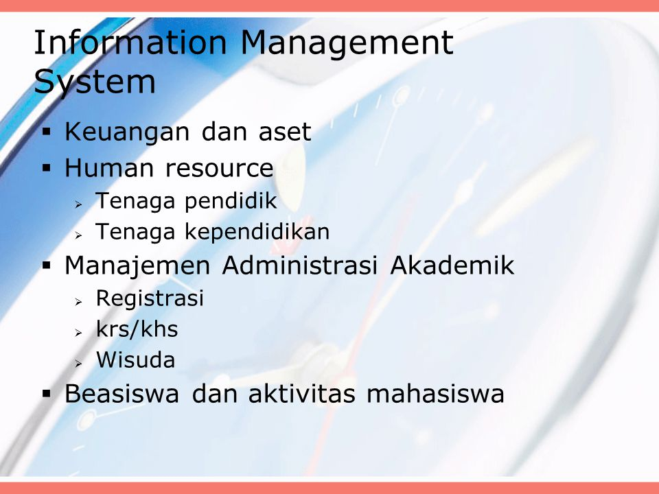 Information Management System