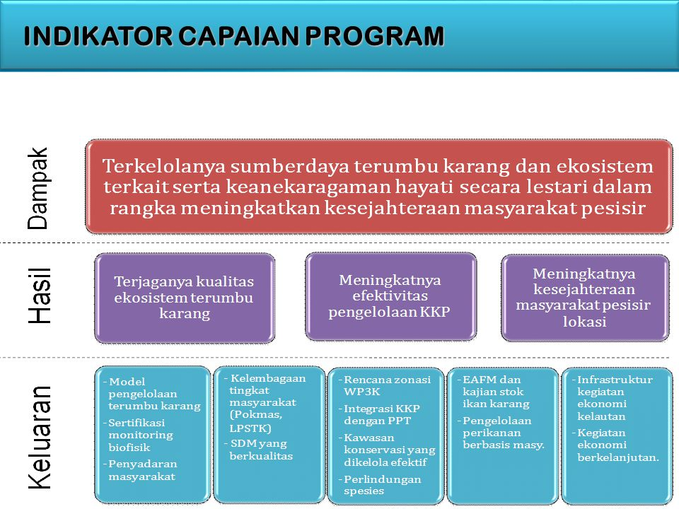 INDIKATOR CAPAIAN PROGRAM