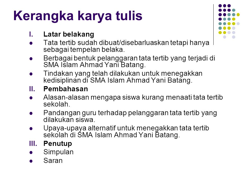 Menulis Karya Tulis Ilmiah Ppt Download